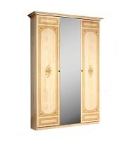 Шкаф 3-х ств. для платья и белья (1 зеркало)